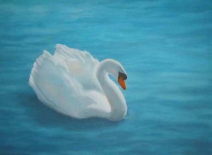 Cherie Fine Art Studio - Studio Thoughts - Hansa Swan