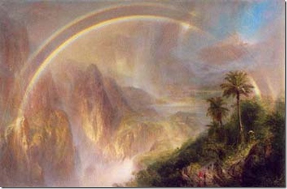 InnerPathWisdom.com - artist - Frederic Edwin Church - Rainy Season in the Tropics