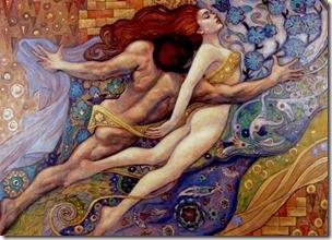 Hieros Gamos - artist Irina Vitalievna Karkabi